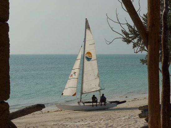 Ankasy Lodge : Le catamaran...