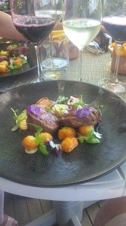 Delaire Graff Restaurant : Superb steak