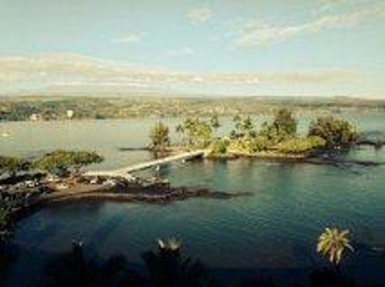 Castle Hilo Hawaiian Hotel: view from room