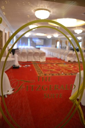 Fitzgerald's Woodlands House Hotel: special event going on during our stay (just a peek!)