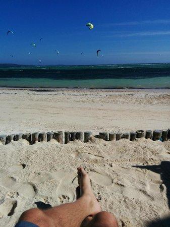 7Stones Boracay Suites : Beach - Kite Surfing