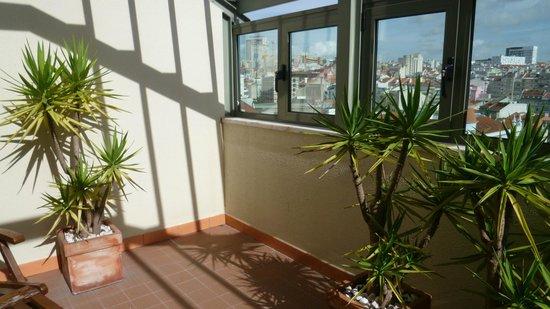 Dom Carlos Liberty Lisboa: Terraço do quarto