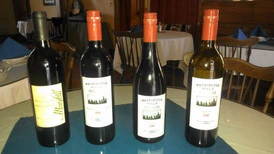A Touch of Athens : American Red Wine selection