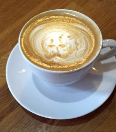 Espresso Kitchen : A Flat White with an impression of the client?