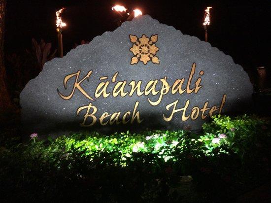 Kaanapali Beach Hotel : Beautiful Entrance