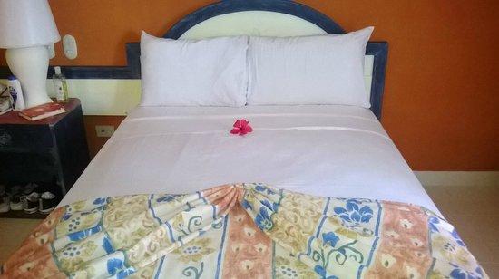 Vista Sol Punta Cana: cama muy comoda de la habitacion 1111
