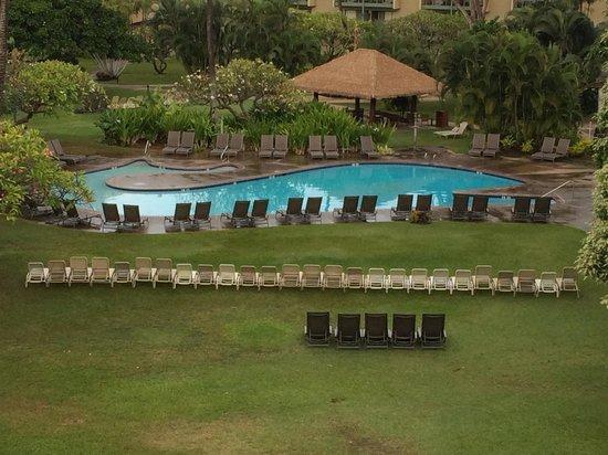 Kaanapali Beach Hotel : Pool is shaped like a whale