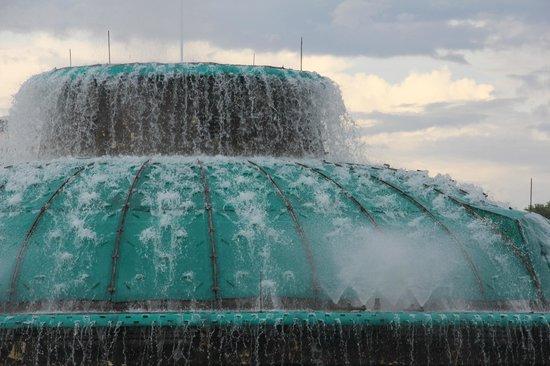 Lake Eola Park: The Linton E. Allen Memorial Fountain