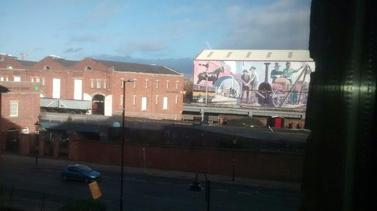 The Castlefield Hotel : View from right hand side of our window :)