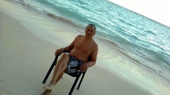 Vista Sol Punta Cana: Atardecer en la playa del Hotel