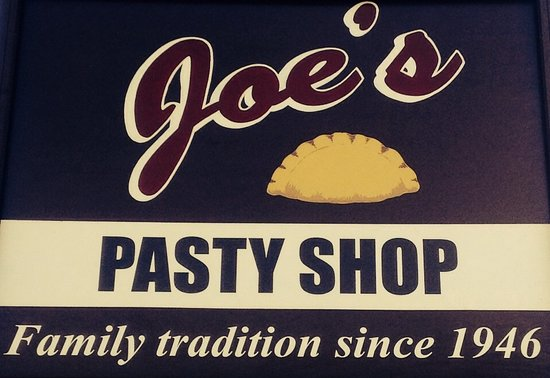 Joe's Pasty Shop: Look for our sign on Courtney Street
