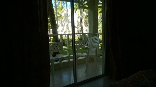 Vista Sol Punta Cana: Vista del parque desde la habitación 1111