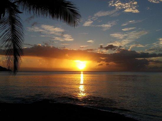 Sisters Sea Lodge: Beachbar Sonnenuntergang
