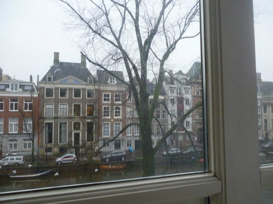 Radisson Blu Hotel, Amsterdam : View from room