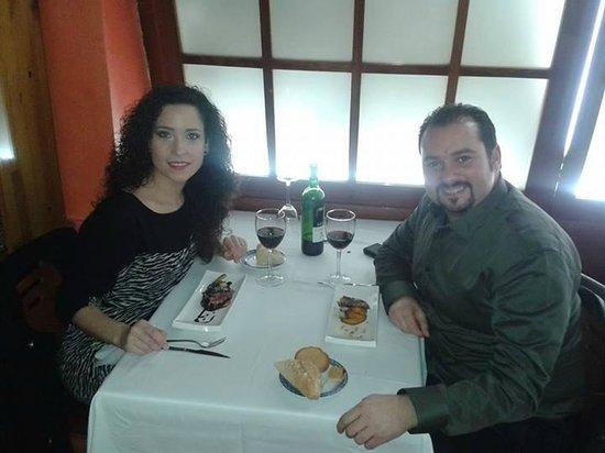 Asador Restaurante Pipol: Cena aniversario