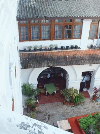 The Old Courtyard : old world charm