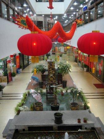 Yun's Paradise Hotel : Торговый центр с чаями