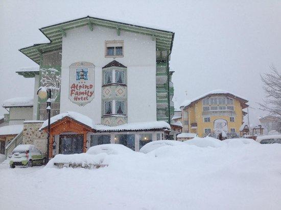 Alpino Family Hotel: Nevoso ....