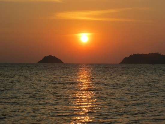 The Chill Resort & Spa, Koh Chang: The Chill sunset