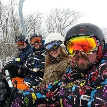 Mountain Ash Farm: Skiing at Blue Mountain