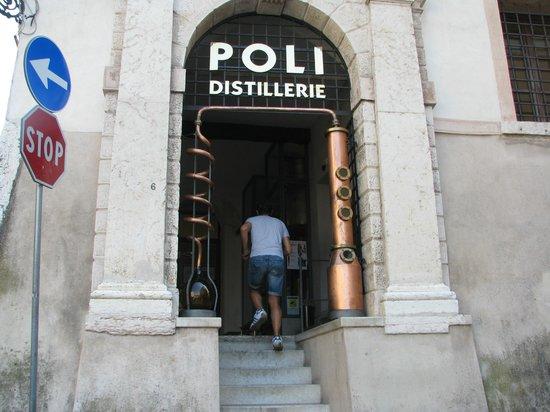 Poli Museo della Grappa: Ingresso