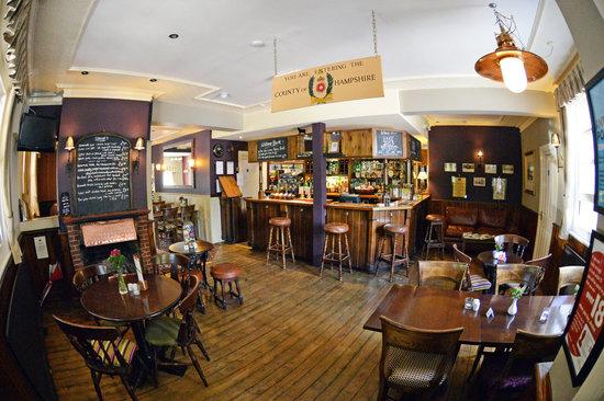 The Flying Bull Inn Restaurant: Entrance