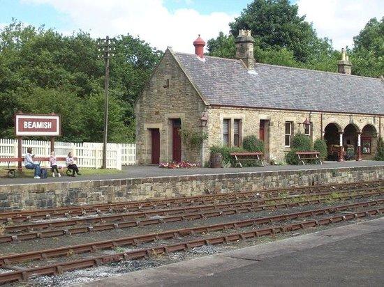 Beamish Museum: Train Station
