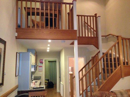 The Longlands Inn & Restaurant: upstairs