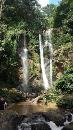 Libra Guest House: Jungletour at the Waterfall