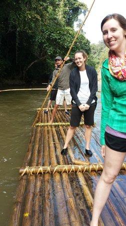 Libra Guest House : Trekkingtour Bamboorafting