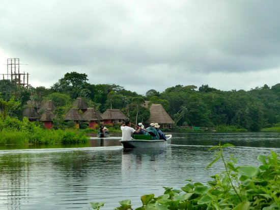 Napo Wildlife Center: Arriving at the Lodge
