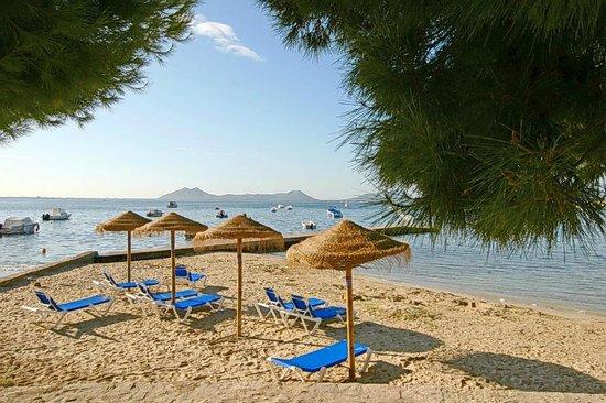 Hotel Illa d´Or: пляж
