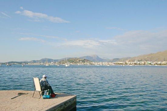 Hotel Illa d´Or: Рыбак