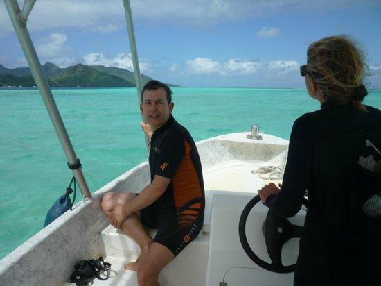 Mahana Dive : Journée inoubliable avec Annie à Huahine