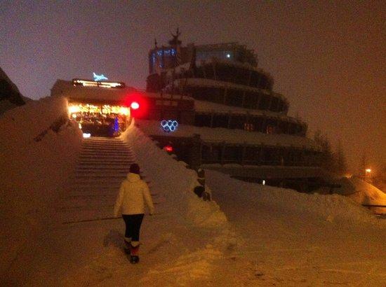 Hotel Shackleton Mountain Resort : dal esterno