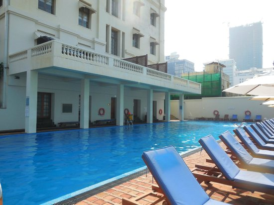 Galle Face Hotel Colombo : salt water pool