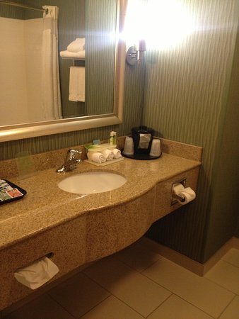 Holiday Inn Express Hotel & Suites Cordele North: Bathroom