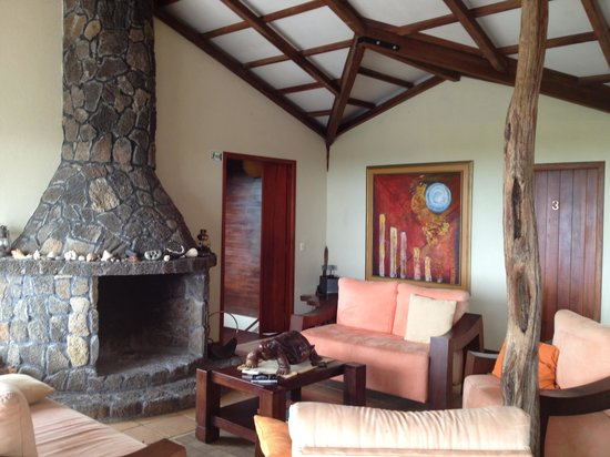 Semilla Verde Boutique Hotel: The living room