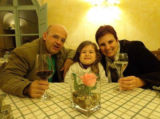 La Perla del Palazzo: Gabriel, Helena e eu.