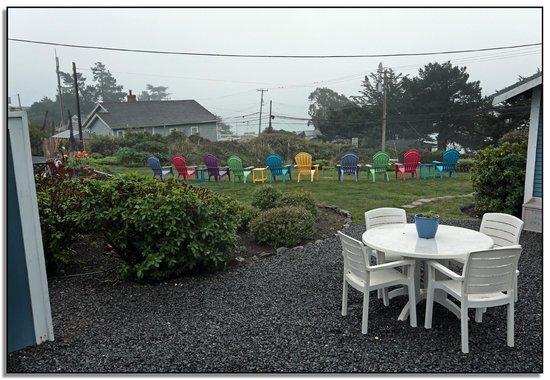 Bodega Harbor Inn: View from our room