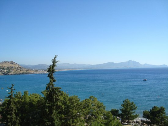 Lindos Mare Hotel: il mare