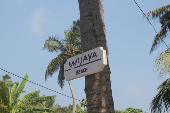 Wijaya Beach Restaurant: sign