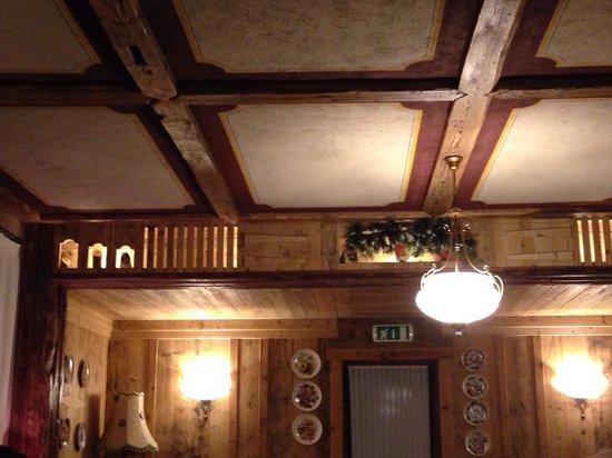 Hotel Laghetto : Soffitto