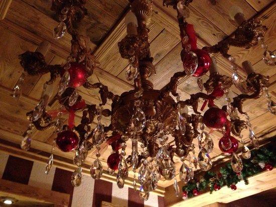 Hotel Laghetto : Lampadario