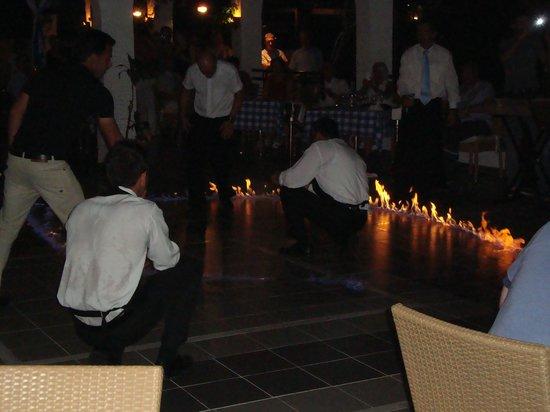 Lindos Mare Hotel: serta greca