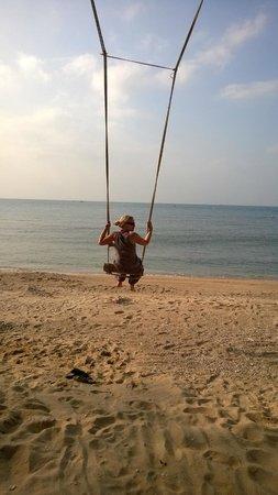 West Coast Beach Resort : Schaukeln ins Meer....klasse