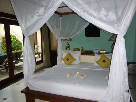 Amertha Bali Villas: notre chambre