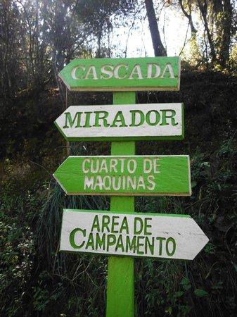 Cascadas Quetzalapan: todo bien señalizado