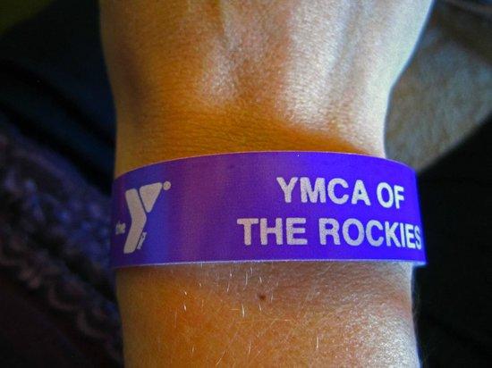 Snow Mountain Ranch: My day pass wrist bracelet