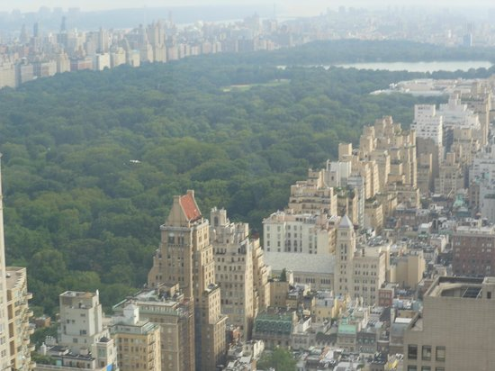 Four Seasons Hotel New York: Central Park view with zoom lens
